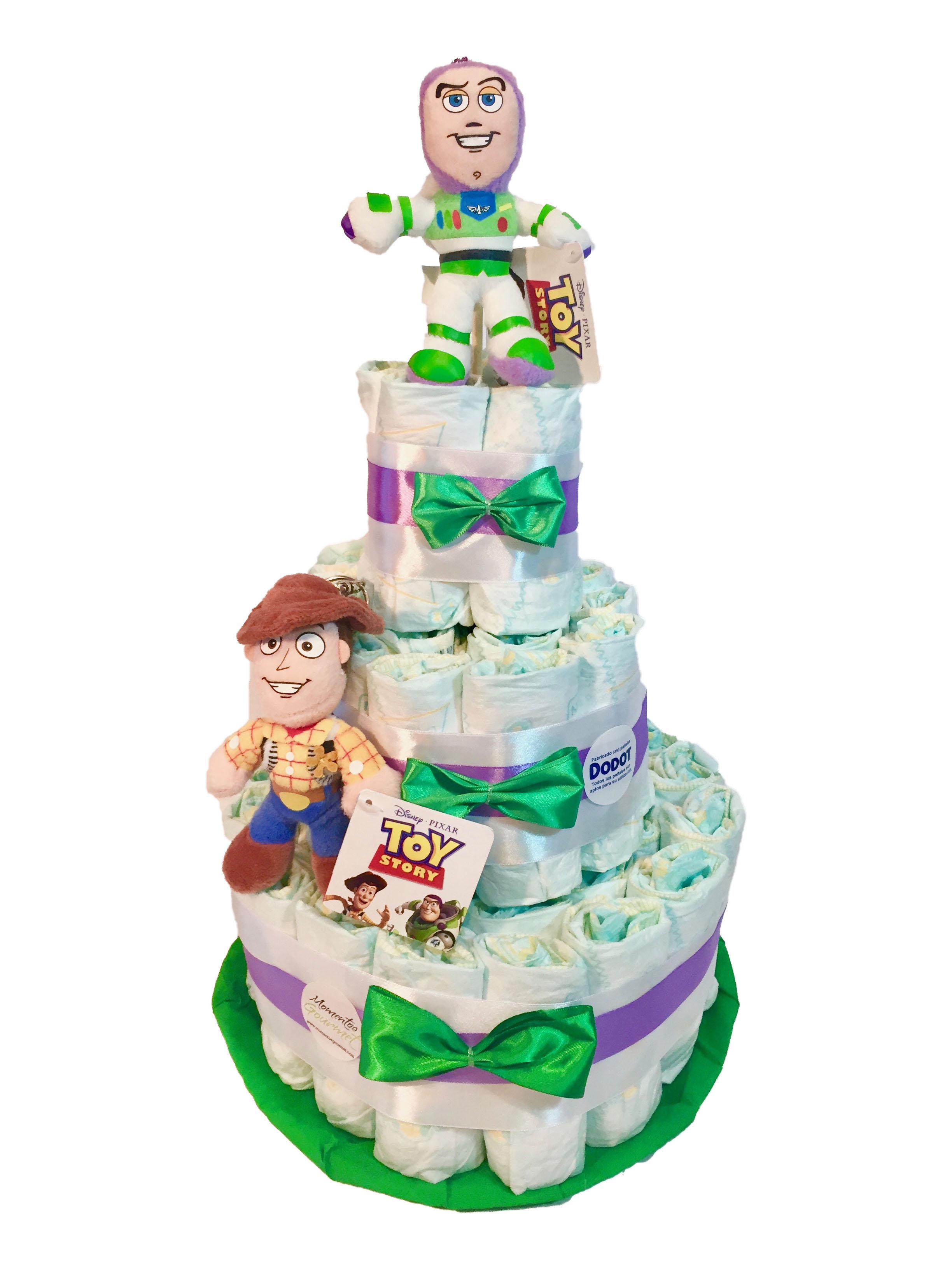 Tarta-de-pañales-Toy-Story-doble-MomentosGourmet