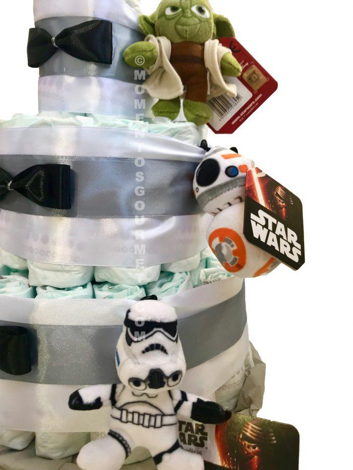 Tarta-de-pañales-Star-Wars-Momentosgourmet