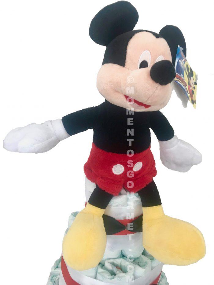 Tarta-de-pañales-Mickey-Disney-momentosgourmet
